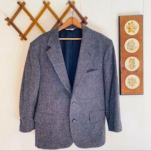 Vintage Wool Tweed Blazer USA Made